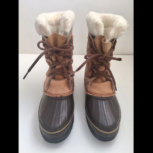 SOREL Caribou Boots Hand Crafted Made In Canada